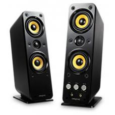 Creative GigaWorks T40 Series II Speakers, 2 channel, Power Rating 32W RMS, Speaker Power 16W RMS per channel, Headphone-out, Aux In (Black) 51MF1615AA009