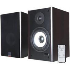Microlab SOLO2C GAMER's Audio Speaker, RMS power: 60 Watt (30 Watt *2), Wireless remote control, High quality sound and full range spectrum (Brown) SOLO2C SOLO2C