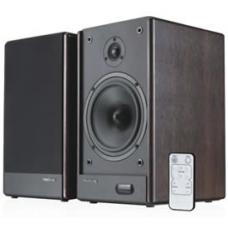 Microlab SOLO6C GAMER's Audio Speaker, RMS power: 100 Watt (50 Watt *2), Wireless remote control, High quality sound and full range spectrum (Brown) SOLO6C SOLO6C