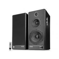 Microlab Solo8c is the kind of classic music system Speaker:110 Watt (55 Watt *2), Wireless remote control, 2RCA X2