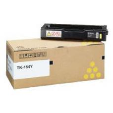 Kyocera TK-154Y Yellow Toner Kit For FS-C1020MFP at 6000 page 5% Avg