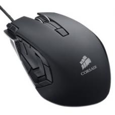 Corsair Vengeance M95 Gaming Mouse, Gunmetal Black, 8200dpi, For MMO/RTS games with15 programmable buttons, laser accuracy and play-for-hours comfort CH-9000025-AP