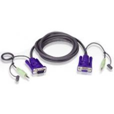 Aten Video Matrix Cable HDB15M to HDB15F with Audio 1.8m 2L-2402A