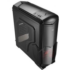 Aerocool Battlehawk - Black Mid Tower Case w/Window 4713105955415