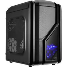 Aerocool GT-RS-Black Mid Tower Case with 1x12cm FAN Ctrl, 2 x USB 3.0, 2 x USB2.0 & HD Audio 4713105955248