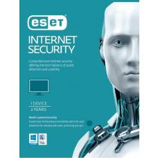 ESET Internet Security 1 Device 2 Years Retail Download Card AV-ES-ESISR2Y