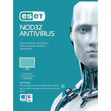 ESET NOD32 Antivirus 1 Device 2 Years Retail Download Card AV-ES-NOD32R2Y