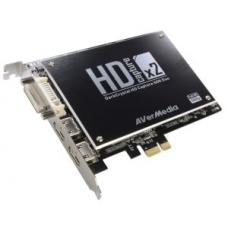 AVerMedia C129 DarkCrystal HD Capture SDK Duo PCIe, 2HD (HDMI/Component) and 2SD (S-Video/Composite C129