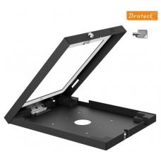 Brateck Wall Mount Anti Theft Secure Enclosure for iPad 2, iPad 3, iPad 4, iPad Air & iPad Air 2 - Black PAD12-01A