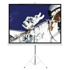 "Brateck 65"" (1.45m x 0.81m) Tripod Portable Projector Screen (16:9 ratio) Black PSDA65"