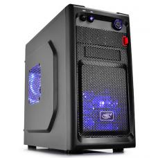 Deepcool Smarter Micro ATX Case with LED Includes 2x Blue 120mm LED Fans SMARTER LED