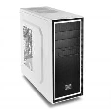 Deepcool Tesseract BF Mid Tower Case, 1 x 120mm Fan, White CASE-TSRBF-WH