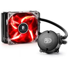 DEEPCOOL MAELSTROM 120T CPU Liquid Cooler AIO Water Cooling With 120mm PWM Fan Red LED MAELSTROM120T RED