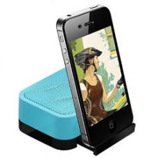 Divoom iFit-1 Portable Speaker, Smart Stand, 360-Degree Sound Field, Up To 6H Playback, Blue iFIT-1