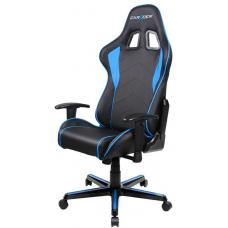 DXRacer F Series Gaming Chair, Sparco Style, Neck/Lumbar Support - Black & Blue OH/FL08/NB