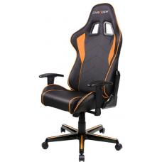 DXRacer F Series Gaming Chair, Sparco Style, Neck/Lumbar Support - Black & Orange OH/FL08/NO