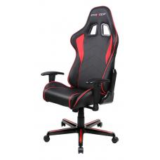 DXRacer F Series Gaming Chair, Sparco Style, Neck/Lumbar Support - Black & Red OH/FL08/NR