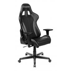 DXRacer F Series Gaming Chair, Sparco Style, Neck/Lumbar Support - Black & Carbon Grey OH/FL57/NG