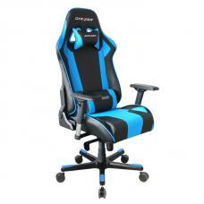 DXRacer King Series Gaming Chair, Neck/Lumbar Support - Black & Blue OH/KE06/NB