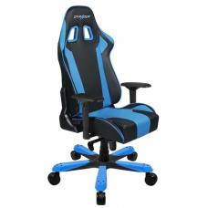 DXRacer KS06 Series Gaming Chair, Neck/Lumbar Support - Black & Blue OH/KS06/NB