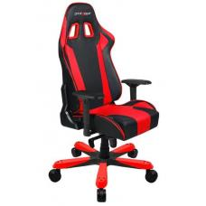 DXRacer KS06 Series Gaming Chair, Neck/Lumbar Support - Black & Red OH/KS06/NR