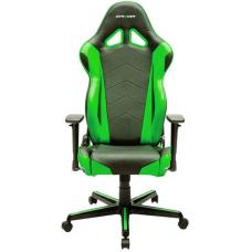 DXRacer Racing Series Gaming Chair, Neck/Lumbar Support - Black & Green OH/RZ0/NE