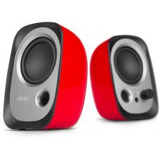 Edifier 'R12U' - 2.0 USB Multimedia Speakers - Red R12U-RD
