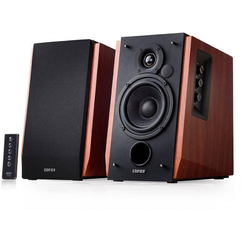 Edifier 'R1700BT' - 2.0 Lifestyle Studio Speakers, Bluetooth R1700BT.BROWN