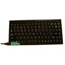 Mini Keyboard USB & PS2 Black KB-MINIUP