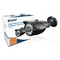 KGUARD HW912C 800TVL Outdoor Bullet Camera with 75 degrees viewing angle and 20 Meter Night Vision HW912C