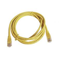 Cat 5e UTP Ethernet Cable, Snagless - 1m Yellow KO820U-1YEL