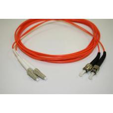 LinkBasic Multi Mode Duplex ST-LC Fibre Optic Patch Cord 3 Meter FAM15-2-3