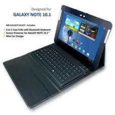 mbeat GALAXY Note 10.1 Bluetooth Keyboard and Accessory Kit in Black USB-BT-KIT02