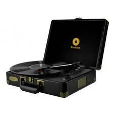 mbeat Woodstock Retro Turntable - Black MB-TR89BLK