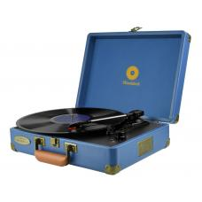 mbeat Woodstock Retro Turntable - Blue  MB-TR89BLU