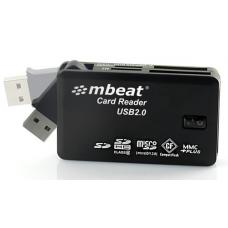 mbeat USB 2.0 All In One Card Reader USB-MCR01