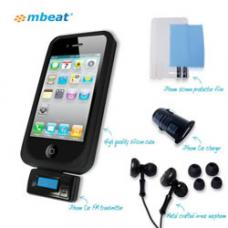 mbeat Travel+Play iPhone 4/4S Essential Starter Kit USB-IKIT01