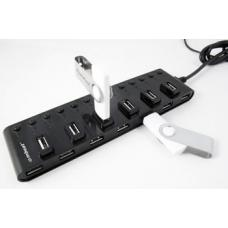 mbeat 13-Port USB 2.0 Hub Manager with Switches USB-M13HUB