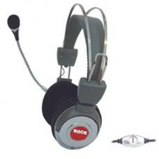 8ware Soft Padded Headphones Headset with Microphone and Volume Control MHEADPH-4
