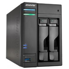 ASUSTOR AS6102T 2-Bay NAS, Dual-Core, 2GB DDR3L, GbE, USB 3.0, eSATA, HDMI, WoL, AES-NI AS6102T