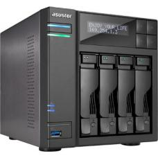 ASUSTOR AS7004T 4-Bay NAS, Core i3 Dual-Core, 2GB DDR3 (Smallnetbuilder's #1 Ranked Total NAS June 2015 AS7004T
