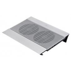 Deepcool Notebook Cooler Pad Up to 15.6' Aluminium with Dual 140mm Fans NB-N8