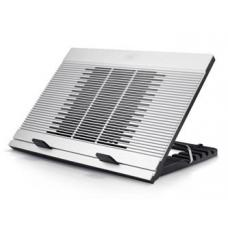 "Deepcool N9 Notebook Cooler (Up To 17""), Angle Adjustable, Antislip, Aluminium, 18cm Fan, 3x USB N9"