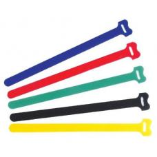 "Pro'sKit Hook and Loop Cable Tie-8"" Assortment (Unit:15pcs/pack) MSV308"