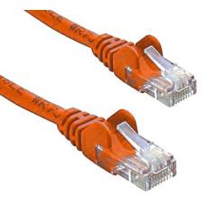 Cat 6 UTP Ethernet Cable, Snagless - 0.25m (25cm) Orange PL6-0.25ORG