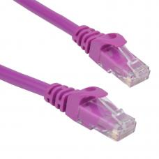 Cat 6 UTP Ethernet Cable, Snagless - 0.25m (25cm) Purple PL6-0.25PUR
