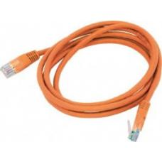 Cat 6 UTP Ethernet Cable, Snagless - 0.5m (50cm) Orange PL6-0.5ORG
