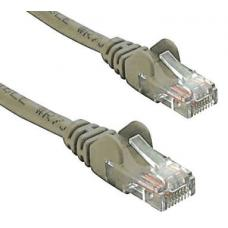 Cat 6 UTP Ethernet Cable, Snagless - 2m Grey PL6-2GRY