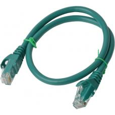 Cat 6a UTP Ethernet Cable, Snagless - 0.25m (25cm) Green PL6A-0.25GRN
