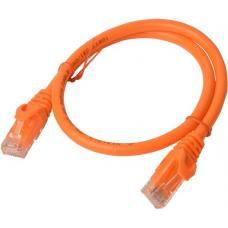 Cat 6a UTP Ethernet Cable, Snagless - Orange 0.25M PL6A-0.25ORG